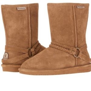 BearPaw Adele Winter Boots 9 Chesnut New in Box